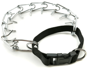 Deluxe Adjustable Prong Training Collar with Quick Release